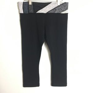 Lululemon Athletica yin to you Crop Leggings 10